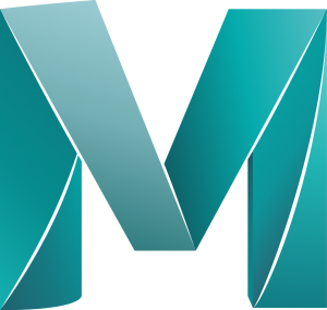 Autodesk Maya Logo 3D-Modelling