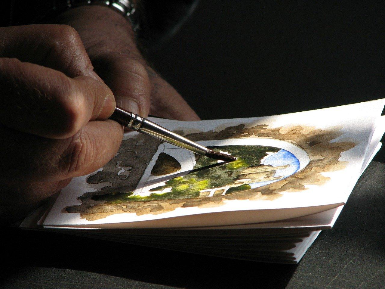 Beleuchtung beim Zeichnen